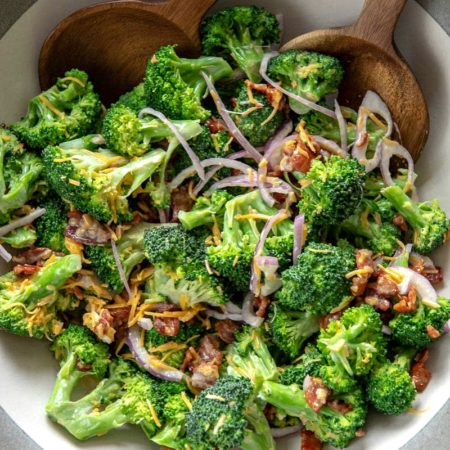 Broccoli & Bacon Salad