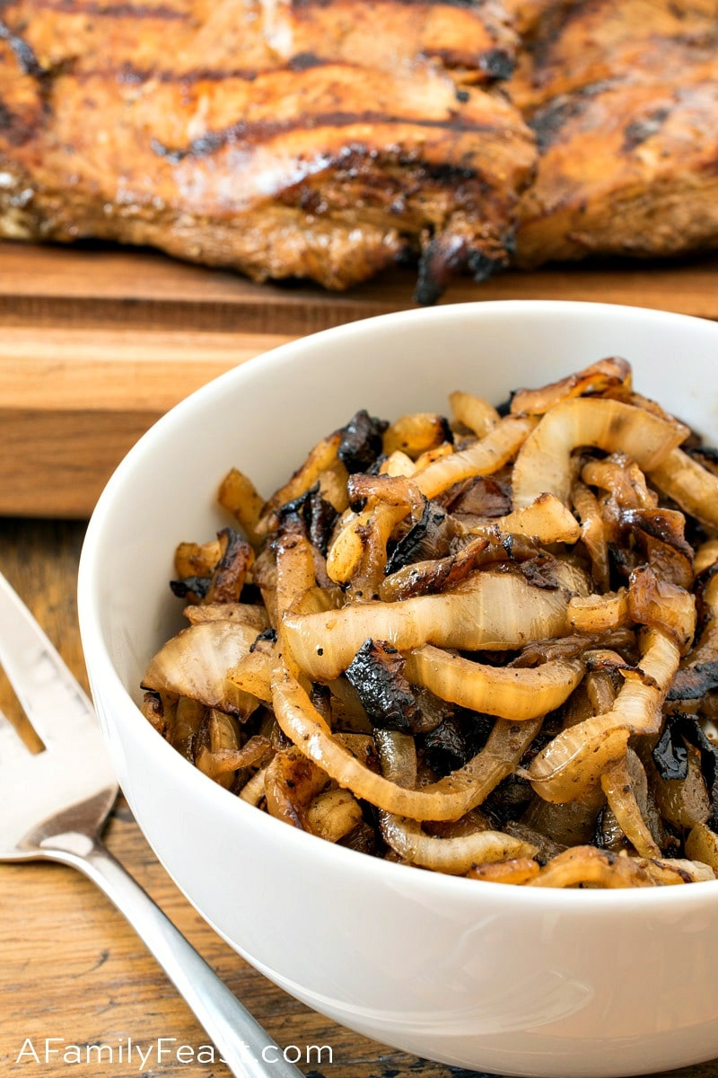 Grilled Caramelized Onions