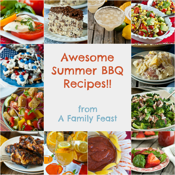 Awesome Summer Barbeque Recipes - A Family Feast