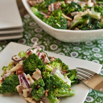 Broccoli and Bacon Salad - A Family Feast