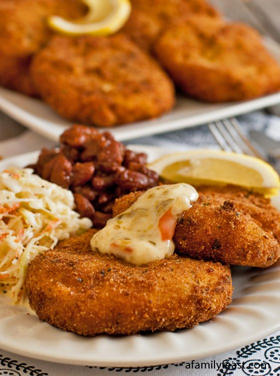 Cod Fish Cakes - A Family Feast