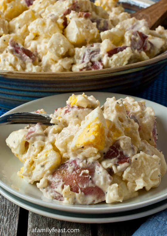 Jack's Potato Salad - A Family Feast
