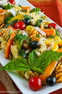 Pasta Primavera - A Family Feast
