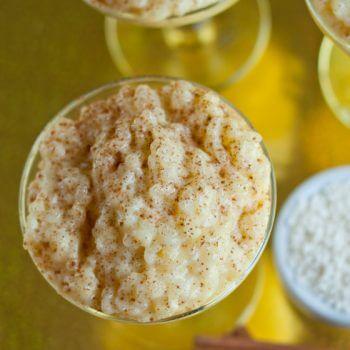 Portuguese Rice Pudding - A Family Feast
