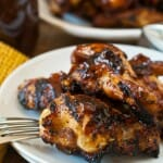 Bourbon Spice Barbecue Chicken Wings