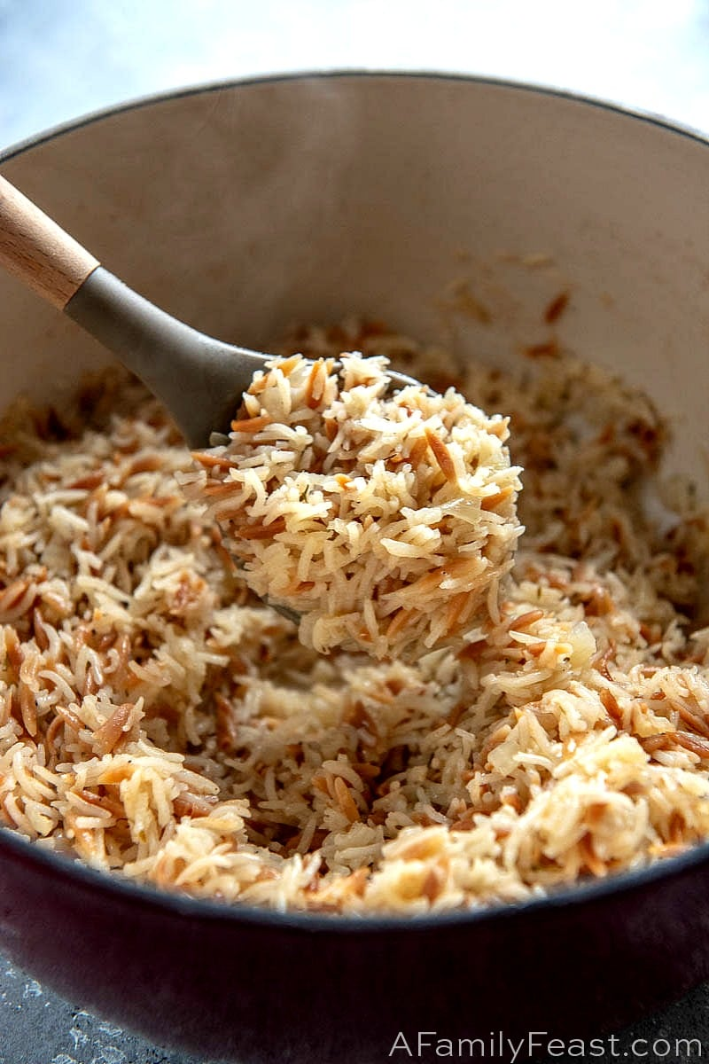 Rice Pilaf A Family Feast