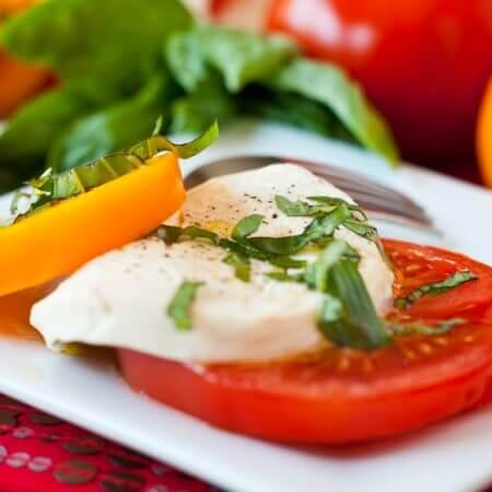Caprese Salad - A Family Feast