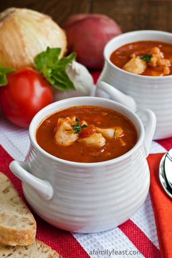 Sausage corn and clam soup recipe dishmaps for Fish broth recipe