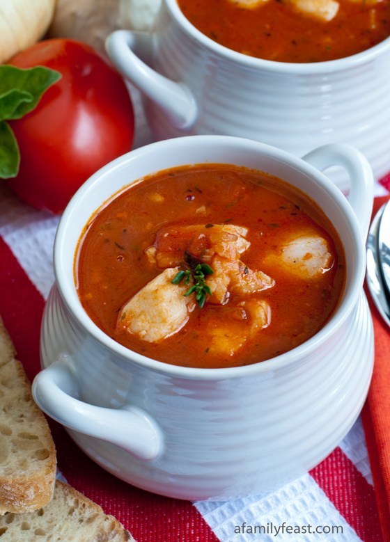 Enjoy a taste of coastal New England with this recipe for Italian Fish Chowder.