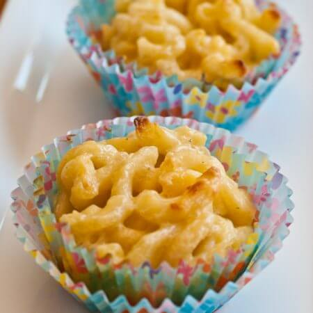 Mac and Cheese Cupcakes - A Family Feast