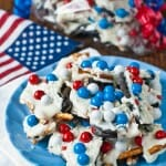 Chocolate Cookie Candy Pretzel Bark
