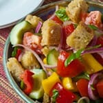 Panzanella Bread Salad - A Family Feast