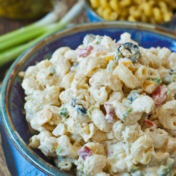 Macaroni Salad - A Family Feast