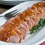 Sweet and Sour Glazed Pork Tenderloin