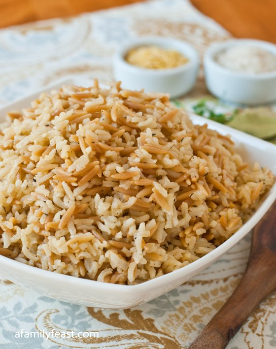 Rice Pilaf - A Family Feast