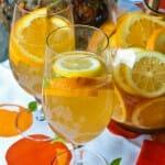 White Wine Sangria - A Family Feast