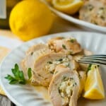 Greek Chicken Roulade - A Family Feast