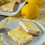 Lemon Oreo Cheesecake Bars