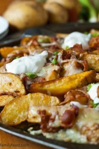Loaded Pub Fries - A Family Feast