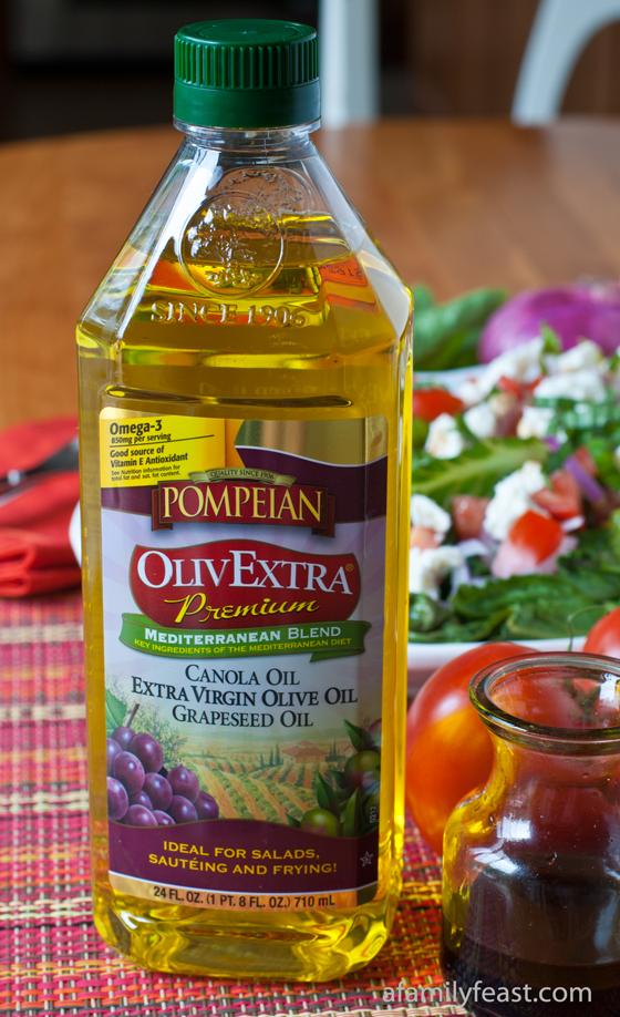 Pompeian OlivExtra - A Family Feast