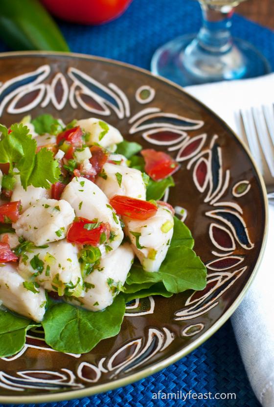 Scallop Seviche - A Family Feast