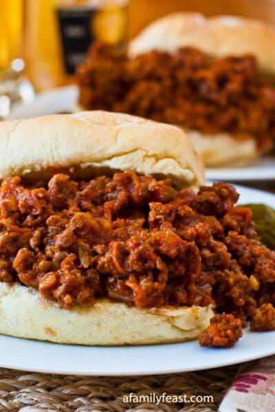 Sloppy Joes - A Family Feast