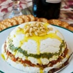 Goat Cheese, Pesto and Sun-Dried Tomato Terrine - A Family Feast