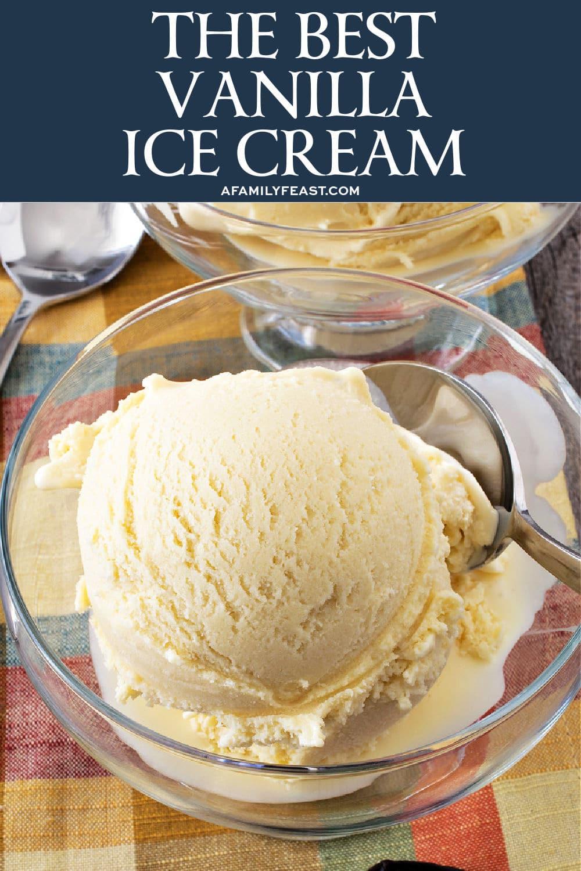 The Best Vanilla Ice Cream
