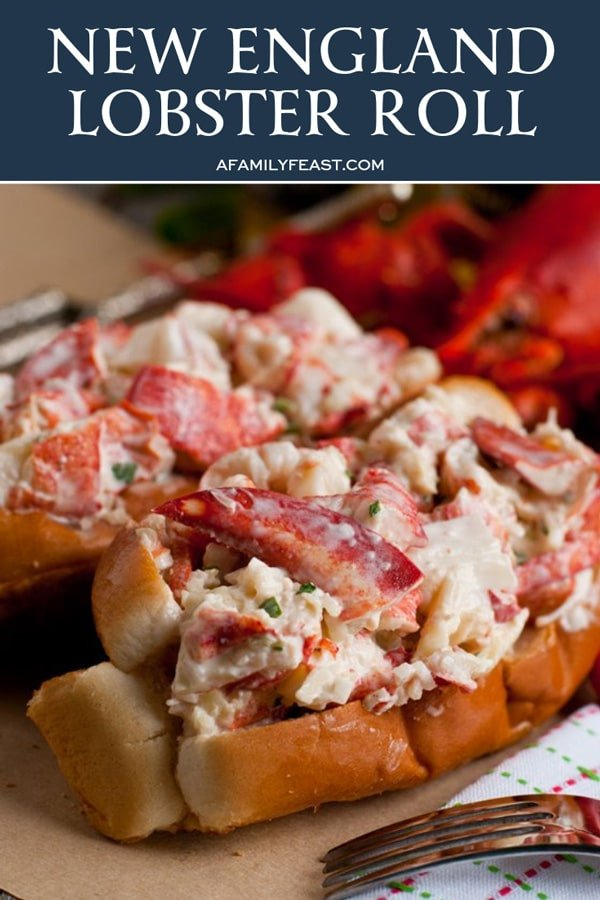 New England Lobster Roll A Family Feast