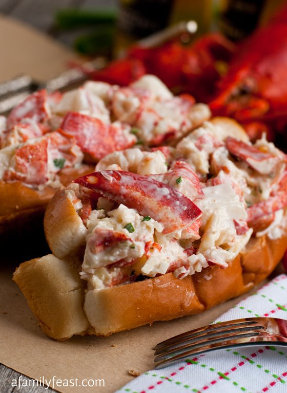 New England Lobster Roll - A Family Feast