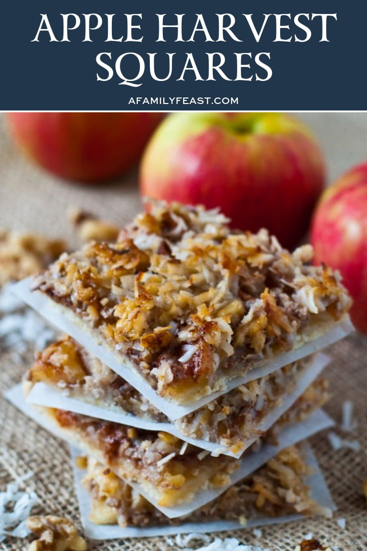 Apple Harvest Squares