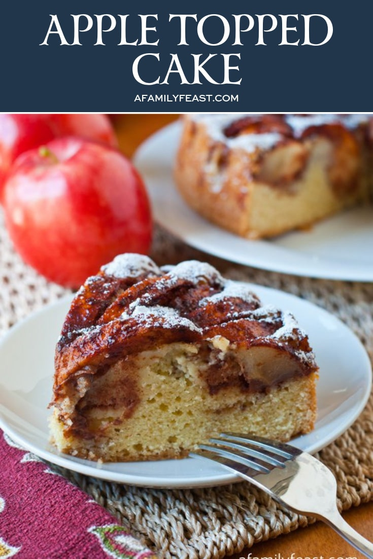 Apple Topped Cake