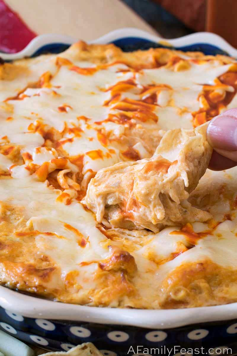 Buffalo Chicken Dip A Family Feast