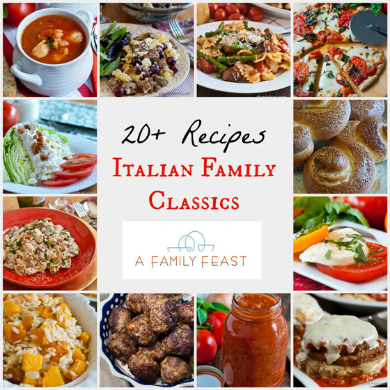 Menu Ideas - A Family Feast