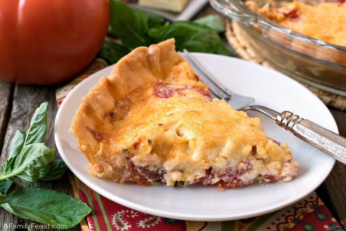 Tomato Pie - A Family Feast
