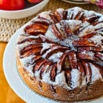 Apple Cake with Apples on Top - A Family Feast