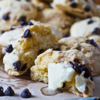 Chocolate Chip Scones - A Family Feast