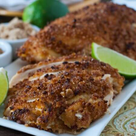 Crunchy Sweet & Salty Chicken - A Family Feast