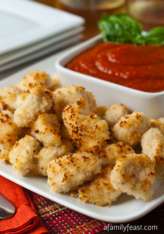 Parmesan Chicken Nuggets - A Family Feast