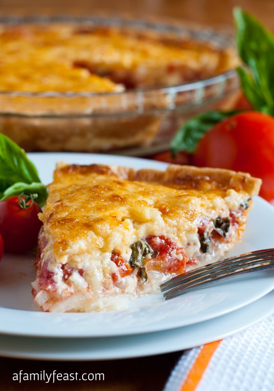Tomato Pie - A Family Feast