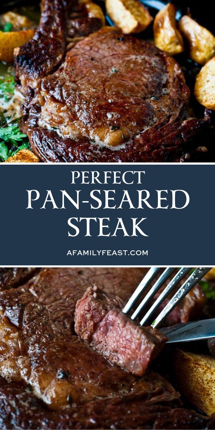 Perfect Pan-Seared Steak