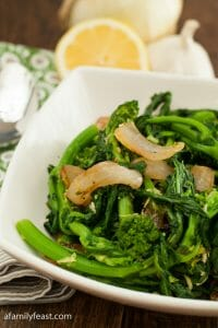 Broccoli Rabe - A Family Feast