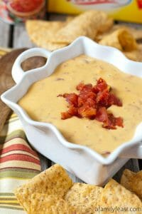 Famous Queso Dip - A Family Feast