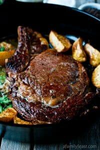 Perfect Pan-Seared Steak - A Family Feast