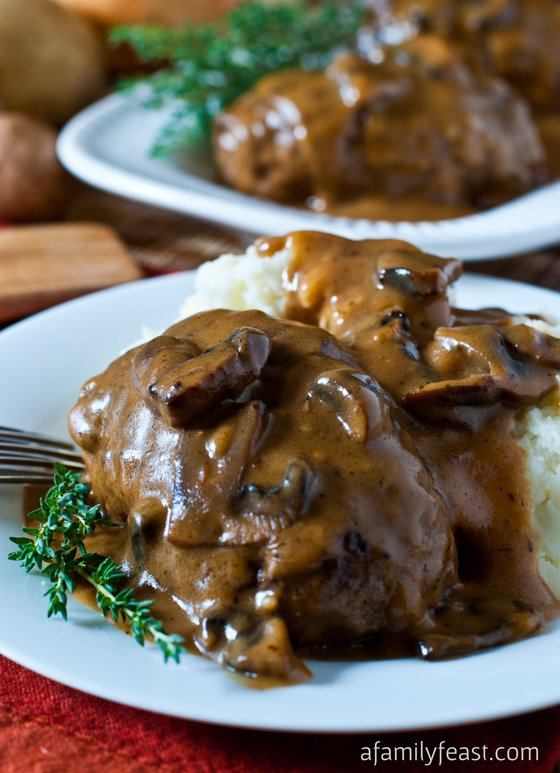 Salisbury Steak - A Family Feast