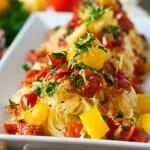Spaghetti Squash Gremolata - A Family Feast