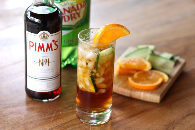 30+ Holiday Cocktails - Pimm's Cup