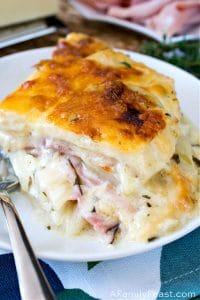 Scalloped Ham and Potato Casserole