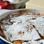 Apple and Cheddar Baked French Toast