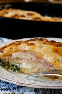 Scalloped Ham and Potato Casserole - A Family Feast